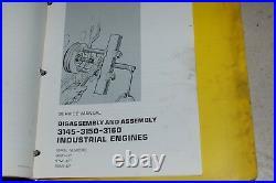 CATERPILLAR 3145 3150 3160 Diesel Engine Repair Shop Service Manual overhaul