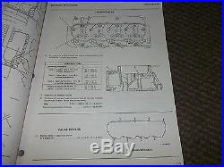 CATERPILLAR 3208 DIESEL TRUCK ENGINE Service Shop Manual SERIAL NUMBERS 32Y 1-UP