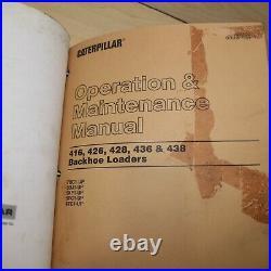 CATERPILLAR 416 426 436 BACKHOE Repair Shop Service Overhaul Manual cat owner
