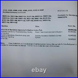 CATERPILLAR 416D 420D 424D 428D 430D 432D 438D 442D Backhoe Shop Service MANUAL