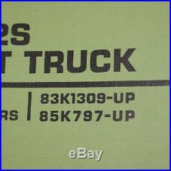 CATERPILLAR 422S Forklift Owner Repair Shop Service Manual book TOWMOTOR guide