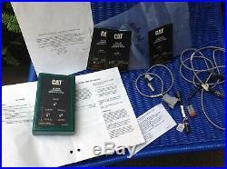 CATERPILLAR 4C8195 CONTROL SERVICE TOOL CAT CMS 9U6665 with Cable Connector Manual