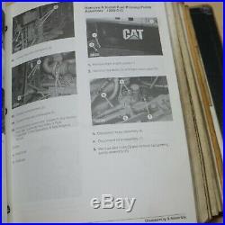 CATERPILLAR 515 525 Wheel Skidder Repair Shop Service Manual Owner cat operator