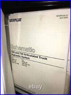 CATERPILLAR 725 730 Articulated Dump Truck Service Manual repair shop overhaul
