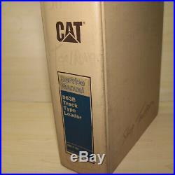 CATERPILLAR 963B Track Loader Crawler Repair Shop Service Manual CAT Owner Book