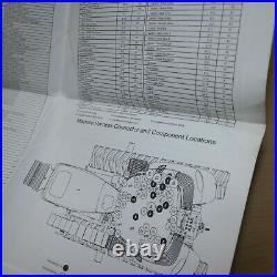 CATERPILLAR CHALLENGER MT835 MT845 MT855 MT865 Tractor Service Schematic Manual