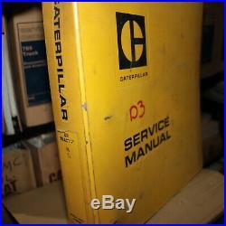 CATERPILLAR D3 Crawler Tractor Repair Shop Service Manual Owner Maintenance book