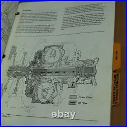 CATERPILLAR D350E D400E Dump Truck Repair Shop Service Manual rock haul quarry 2