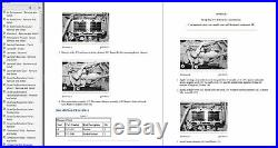 Cat 3406E 2WS, 1MM Truck Diesel Engine Service Manual Set CD-ROM Latest Edition