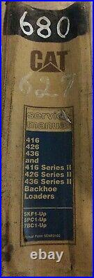 Cat 416, 426, 436 & 416, 426, 436 Series Ii, Backhoe Loaders Service Manual. 1990