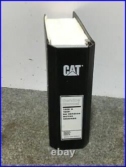 Cat Caterpillar 140h 160h Motor Grader Service Repair Manual 9ej 2zk 3gm 9tn 9zn