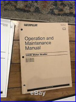 Cat Caterpillar 140m Motor Grader Service Shop Repair Manual