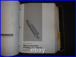 Cat Caterpillar 225 225b 229 Excavator Service Shop Repair Manual 51u 61x 2zd 1g