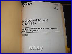 Cat Caterpillar 248b 268b Skid Steer Loader Service Shop Repair Manual Book