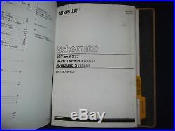 Cat Caterpillar 267 277 287 Multi Terrain Skid Steer Loader Shop Service Manual