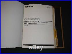 Cat Caterpillar 303 Cr Excavator Service Shop Repair Manual Book S/n Dma Car