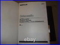 Cat Caterpillar 307 Excavator Service Shop Repair Book Manual S/n 2pm00001-256