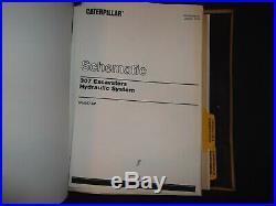 Cat Caterpillar 307 Excavator Service Shop Repair Book Manual S/n 2pm00257-up