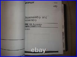 Cat Caterpillar 308d Cr Excavator Service Shop Repair Manual Book S/n Fyf Gbt