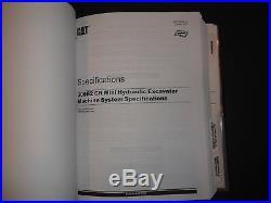 Cat Caterpillar 308e2 Excavator Service Shop Repair Manual Book S/n Fjx Tmx
