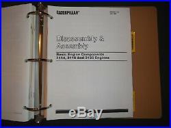 Cat Caterpillar 3114 3116 3126 Industrial Engine Service Shop Repair Manual Book