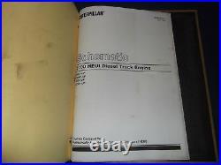 Cat Caterpillar 3116 3126 Truck Engine Service Repair Manual 8wl 1wm 4es 2cw 8hw
