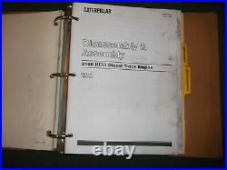 Cat Caterpillar 3116 3126 Truck Engine Service Shop Repair Manual 8wl 1wm