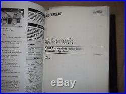 Cat Caterpillar 311b 312b 312b L Excavator Service Shop Repair Manual Book
