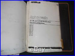 Cat Caterpillar 311b 312b L Excavator Service Shop Repair Manual Book