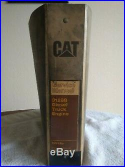 Cat Caterpillar 3126B Diesel Truck Engine Repair Service Manual 7AS1-Up