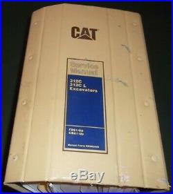 Cat Caterpillar 312c Excavator Service Shop Repair Book Manual S/n Cba Fds
