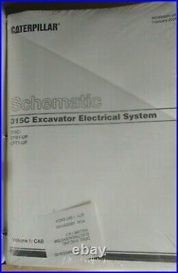 Cat Caterpillar 315c 315c L Excavator Service Repair Book Manual Cfb Cjc Ake Cft