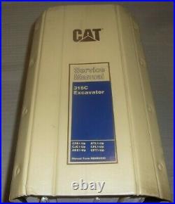Cat Caterpillar 315c Excavator Service Shop Repair Book Manual S/n Btl Cjc Ake