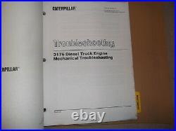 Cat Caterpillar 3176 Diesel Truck Engine Repair Service Manual S/n 7lg00001-up