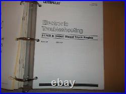Cat Caterpillar 3176b Diesel Truck Engine Service Shop Repair Manual Book 9ck1
