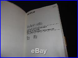 Cat Caterpillar 320 320l Excavator Service Shop Repair Book Manual 9kk 2dl