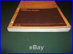Cat Caterpillar 3208 Industrial Engine Service Shop Repair Manual Book 3z1-up