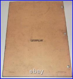 Cat Caterpillar 3208 Marine Engine Service Shop Repair Manual Book S/n 1z1-up