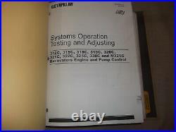 Cat Caterpillar 320c Excavator Service Repair Shop Workshop Book Manual Volume I