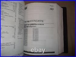 Cat Caterpillar 320d Excavator Service Shop Repair Manual Book Vol 1