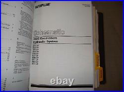 Cat Caterpillar 322c Excavator Service Shop Repair Manual S/n Bkf Bgr