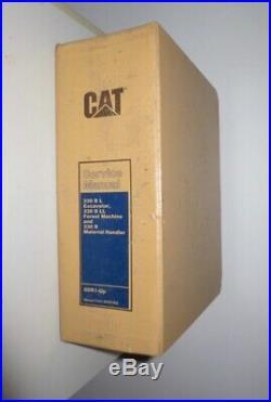 Cat Caterpillar 330 B L Excavator & Cat B LL Forest Machine Service Manual
