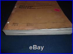 Cat Caterpillar 3304 3306 Marine & Industrial Service Shop Repair Book Manual