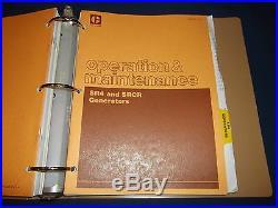 Cat Caterpillar 3304b 3306b Generator Engine Service Shop Repair Manual 83z 85z