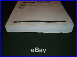 Cat Caterpillar 3406b Truck Service Shop Repair Manual Book 3zj 4mg 5kj 7fb
