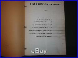 Cat Caterpillar 3406b Truck Service Shop Repair Manual Book S/n 4mg 7fb