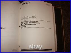 Cat Caterpillar 3406c Generator Shop Repair Service Manual S/n 8fs1-up