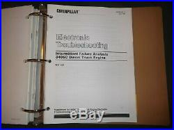 Cat Caterpillar 3406c Peec Truck Engine Service Shop Repair Manual S/n 4ck846-up