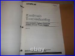 Cat Caterpillar 3406c Truck Engine Service Shop Repair Manual Book S/n 4ck846-up