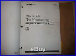 Cat Caterpillar 3406e Diesel Truck Engine Service Shop Repair Manual S/n 1lw 5ds